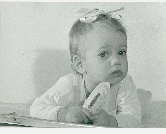 A Baby Boomer, mid-twentieth century