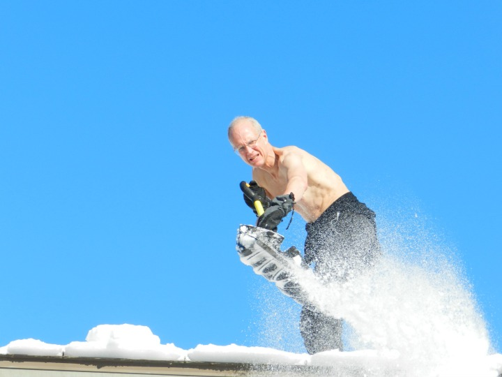 Shoveling the Roof