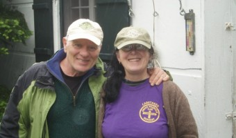 Hugh & Jeanne Joudry, Caretakers for the Green Mountain Club on Stratton Mountain.