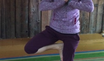 Jen had been practicing yoga since 1998, and had just finished her teacher when she arrived in Vermont.
