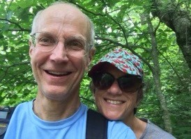 Still hiking together, after 31 years.