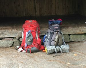 Day 25: ready to hoist the packs for the last time and hike out.